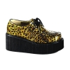 CREEPER-208 Gold Cheetah Glitter